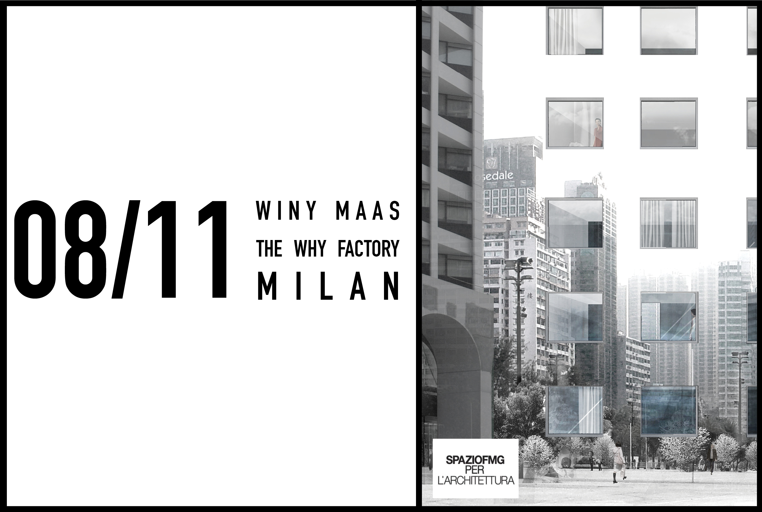 Winy Maas to speak at Why Factory exhibition in Milan on 8 November