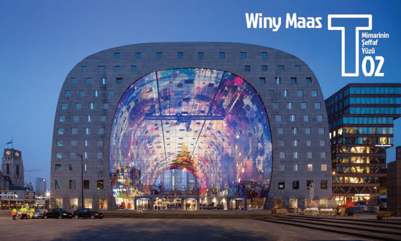 Winy Maas to Lecture in Istanbul on October 8th